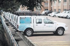 Prasa buys 174 bakkies, minibuses at a cost of more than R57.6 million of taxpayers' money… just to park them pointlessly Some of the vehicles already have scratches, and others don't even start any more