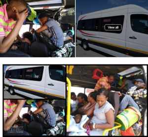 Doing it the African way - 44 People Including 7 Children Found in 22-Seater Mini Bus