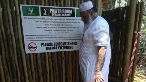 First Muslim prayer facility opened at Skukuza camp in the Kruger National Park