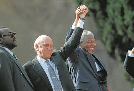 Suddenly the traitor FW de Klerk is experiencing a sense of remorse after he handed SA over to the ANC-regime on a silver platter - FW de Klerk says SA can no longer be regarded as non-racial society