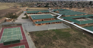 New school building in Tsakane location has already been hit by robbers and looters - What else do you expect from an African mentality?