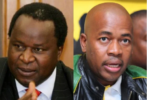 'Open your brain first before opening your mouth,' says Mboweni to Masina in a heated debate over nationalisation- The finance minister believes the mayor was commenting on topics he has no in-depth knowledge of