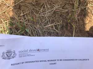 Thousands of social support applications found dumped in a field in the Free State - Can the government explain how did this happen and confirm whether the applications were processed before they were dumped