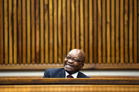 SA's corrupt legislation allows Zuma to stand for parliament since people are only disqualified for nominations if they have a criminal record