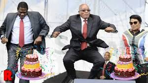 "Zuma's singing career - former president of the Banana Republic now wants to bring out a album with ""struggle"" songs"