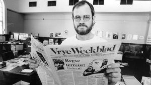 ANC joiner, Max du Preez recently announced the return of his newspaper Vrye Weekblad after it was forced to close a quarter of a century ago - most likely he will use this online version as a tool to spread the ANC's propaganda?