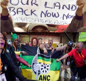 ANC has been accused of exploiting land expropriation without compensation issue as an electoral tool to garner votes - this political party suddenly decides land issue is urgent and must be tackled before election