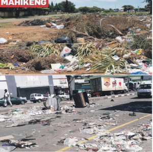 A tale of two (broken) cities - Mahikeng, the former pride of North West for its cleanliness and progressive policies, is now overrun with potholes, refuse and debt