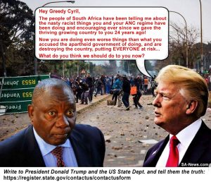 Trump Ramaphosa