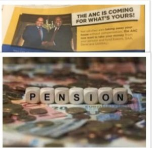 South African pensioners' biggest fear has now become a reality - Pensions now need to fund bankrupt government's state entities
