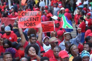 Protest actions and strike is becoming a norm in SA - Cosatu plans to bring economic activities in eight provinces  to a complete halt and stated: 'We will march to show our anger'