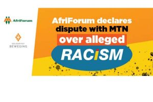 MTN supports the racist EFF and ANC