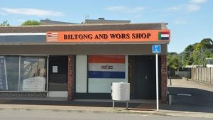 New Zealander's challenge racism and white supremacy - Petition for New Zealand biltong and wors shop to take down old SA flag