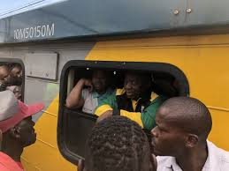 SA President, Cyril Ramaphosa meets reality - delayed for hours after chaotic trip on Metrorail trainn- 50km journey took four hours to complete