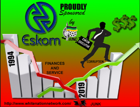 Eskom's request to increase electricity granted after poor administrators of SA-regime succumb to unrealistically high demands - annual revenue of the state entity will now increase by R784bn