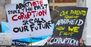 Latest corruption: 62% of reported fraud was committed by officials, all of them employed by the ANC and DA figures – no wonder white voters are reluctant to vote