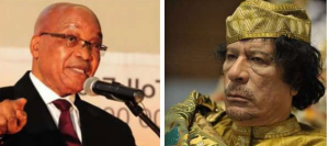 Former Libyan leader Muammar Gaddafi's missing millions hidden at Jacob Zuma's Nkandla?