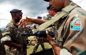 SANDF is unable to be proactive in addressing crime and the lack of discipline in its own ranks - Loss of 58 weapons and nearly 8000 rounds of ammunition is disturbing