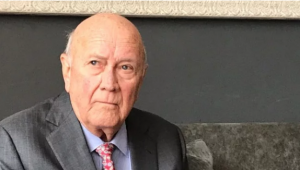 Traitor De Klerk declares that if ANC wins and Ramaphosa keeps his promises, things will get better