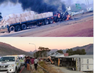 Horrible cost of violence against trucks in South Africa – truck drivers under siege by rock throwing thugs