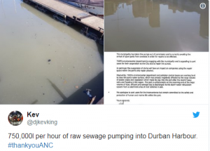 Sh*thole country? - Swimming, surfing and fishing banned in Durban due to raw sewage in water - surf contest, been called to protect the safety and health of surfers