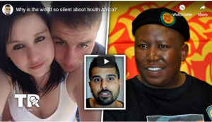 Foreign news website took notice!: WHY IS THE WORLD SO SILENT ABOUT SOUTH AFRICA? - For one simple reason; The victims are white.