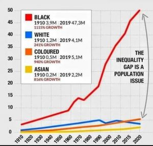 Population growth among Black community in SA only exacerbate the poverty cycle