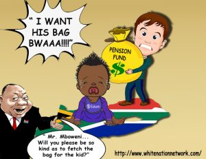 The ANC regime now wants to loot your pension money to save their struggling state entities