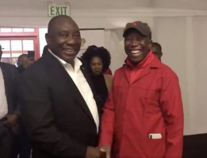 There is no turning back! Ramaphosa agrees with Malema on expropriation without compensation