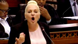 """Zuma still controls the ANC"" – Natasha Mazzone blitzes Ramaphosa - Good luck coming back from Mazzone's speech!"