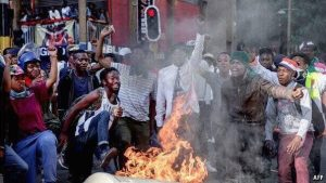THE CAUSE OF SOUTH AFRICA'S UNREST... ANC the cause of humanity's woes