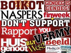 NASPERS! The company that values profits before people