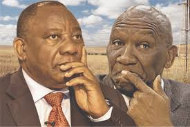 Cyril says he condemns farm murders just like other murders, but why doesn't he take action?