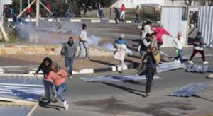 Continuous service protests by barbaric protesters in SA threaten people's safety