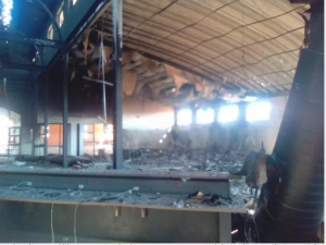 Barbaric protesters torched State-of-the-art community library estimated at R12 million in North West town, Ottosdal