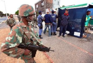 SANDF totally useless in Western Cape - ANC regime loses fight against crime