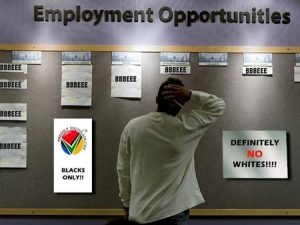 Tighter measures put in place to accelerate transformation - whites now become target of ANC regime