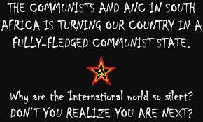 Red Flag of communism is being raised higher in SA - communist ANC-SACP is slowly but surely depriving whites of their rights in the country