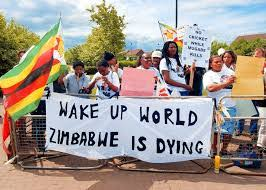 SA collapses as a result of communist ANC regime - dire state of land now on the same level as Zimbabwe