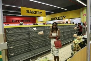 SA is collapsing and the bad conditions are now putting residents at the same level as Zimbabwe's people