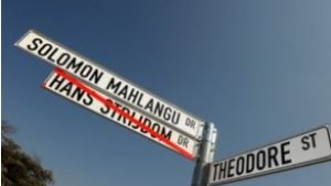 Street names in Ekurhuleni will soon get new street names that will be named after major ANC political icons – What a waste of taxpayers money