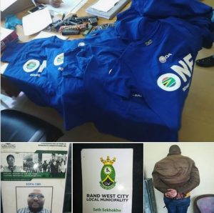 DA Councilor of Westonaria arrested for armed robbery