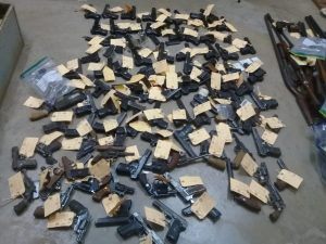 Shocking discovery: 108 illegal firearms and 134 round of ammunition seized from Limpopo security companies