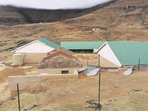 R7 million school in Eastern Cape build in a area obviously not suitable for any construction, now in ruins – this is just one môre example of the incompetence of the ANC educational department