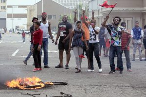 Anti-mass immigration violence is raging in SA despite the ANC president's declaration that action will be taken on offenders