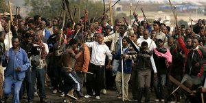 Rising anti-mass immigration violence in Gauteng calls on political leaders to ask for military assistance to bring violence under-control – They speak out against attacks on foreigners but remain silent on farm murders