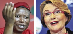 The madam is calling Juju -Helen Zille invites Malema to tea for debate on the topic of South Africa's future