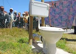Toilet scandal - several senior ANC officials arrested after being awarded R650m tender to build 66,000 toilets