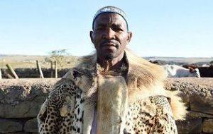 Xhosa King Zwelonke passed away
