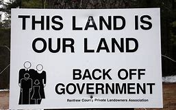 land theft